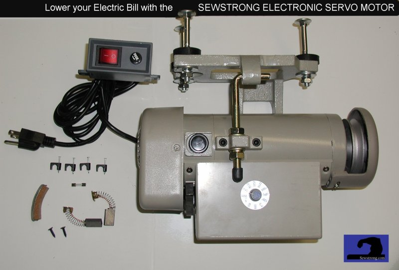 motor for sewing machine